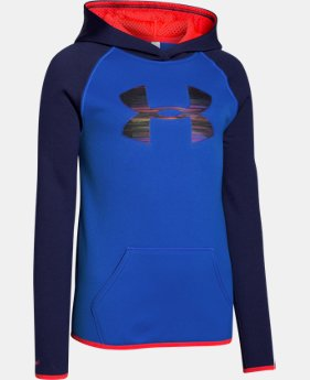 Girls' UA Armour® Fleece Big Logo Hoodie  1 Color $28.49