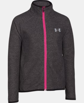 Girls' UA ColdGear® Infrared Fleece Full Zip  4 Colors $53.99 to $67.99