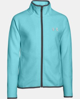 Girls' UA ColdGear® Infrared Fleece Full Zip  2 Colors $40.49 to $50.99
