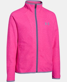 Girls' UA ColdGear® Infrared Fleece Full Zip  1 Color $40.49 to $50.99
