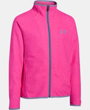 Girls' UA ColdGear® Infrared Fleece Full Zip   $50.99