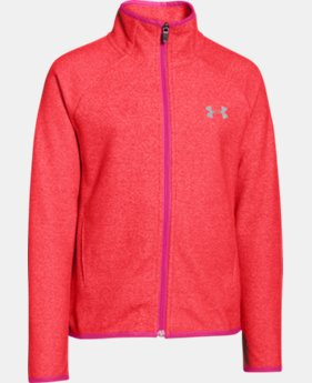 Girls' UA ColdGear® Infrared Fleece Full Zip  1 Color $53.99