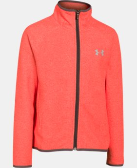 Girls' UA ColdGear® Infrared Fleece Full Zip  1 Color $47.99