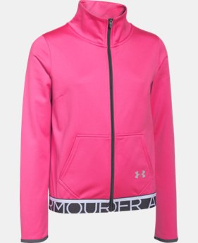 Girls' UA Eliminate Track Jacket