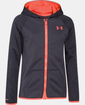 Girls' UA Storm Armour® Fleece Full Zip Hoodie  2 Colors $38.99 to $48.99