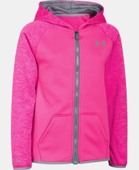Girls' UA Storm Armour® Fleece Full Zip Hoodie  1 Color $38.99 to $48.99