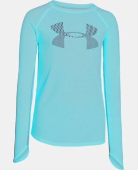 Girls' UA Waffle Long Sleeve EXTRA 25% OFF ALREADY INCLUDED 1 Color $13.49