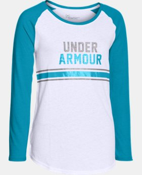 Girls' UA Collegiate Long Sleeve  1 Color $16.99