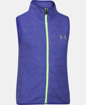 Girls' UA ColdGear® Infrared Fleece Vest LIMITED TIME: FREE U.S. SHIPPING  $38.99