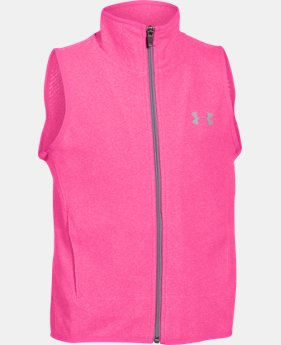 Girls' UA ColdGear® Infrared Fleece Vest LIMITED TIME: FREE SHIPPING 1 Color $39.74