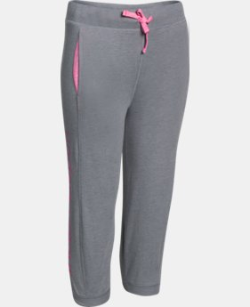 Girls' UA Half-Time Capri  3 Colors $17.99 to $21.99