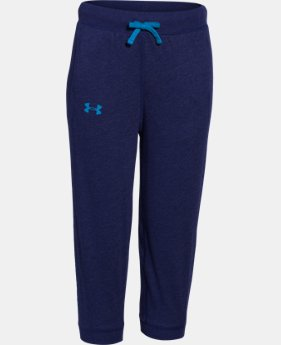 Girls' UA Half-Time Capri  1 Color $17.99 to $21.99
