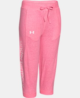 Girls' UA Half-Time Capri   $17.99 to $21.99