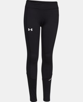 Girls' UA ColdGear® Infrared Legging LIMITED TIME OFFER + FREE U.S. SHIPPING 1 Color $28.49 to $37.99
