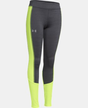 Girls' UA ColdGear® Infrared Legging LIMITED TIME OFFER + FREE U.S. SHIPPING 2 Colors $28.49 to $37.99