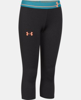 Girls' UA HeatGear® Armour Capri   $17.99 to $22.99