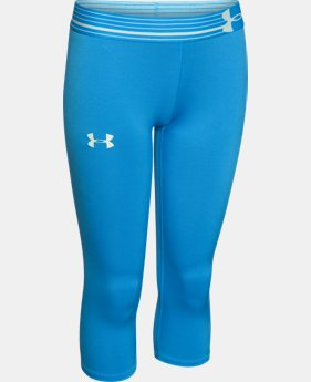 Girls' UA HeatGear® Armour Capri  1 Color $17.24 to $22.99