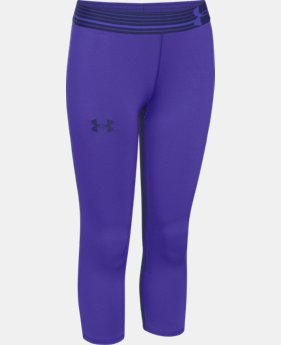 Girls' UA HeatGear® Armour Capri  1 Color $17.99 to $22.99