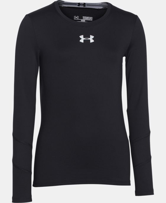 Girls' UA ColdGear® Long Sleeve LIMITED TIME OFFER + FREE U.S. SHIPPING 1 Color $29.99