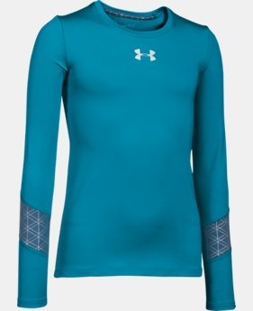 Girls' UA ColdGear® Long Sleeve  1 Color $23.99 to $29.99