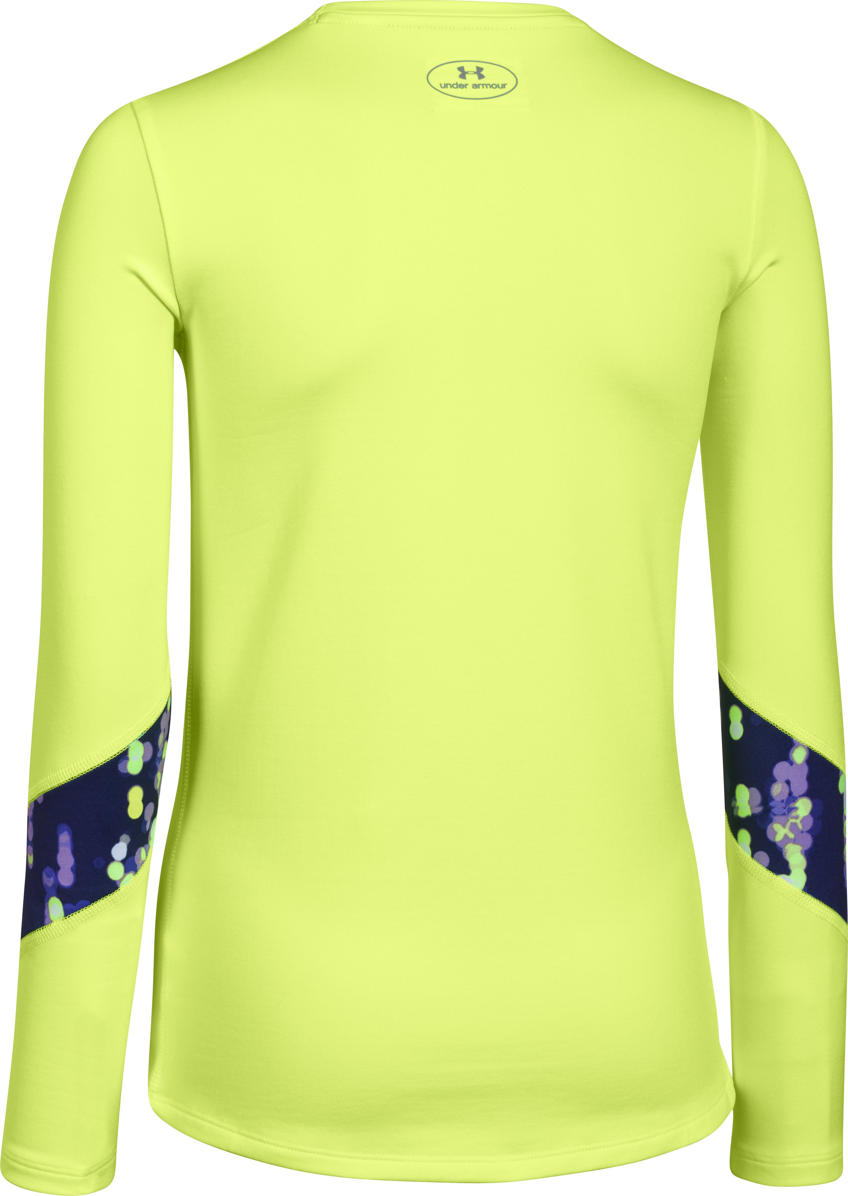 Girls' UA ColdGear® Long Sleeve, X-Ray, undefined