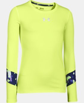 Girls' UA ColdGear® Long Sleeve  6 Colors $23.99 to $39.99