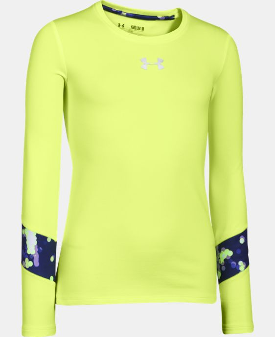 Girls' UA ColdGear® Long Sleeve  1 Color $17.99 to $39.99