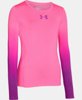 Girls' UA HeatGear® Armour Long Sleeve   $17.99 to $22.99