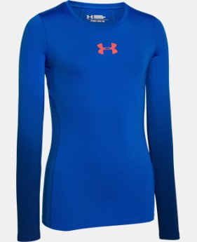 Girls' UA HeatGear® Armour Long Sleeve  1 Color $17.99 to $22.99