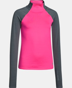 Girls' UA ColdGear® Infrared Mock  1 Color $31.49
