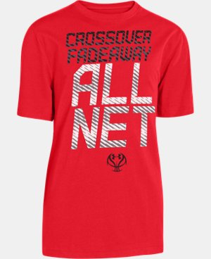 Boys' UA Crossover Fade T-Shirt LIMITED TIME: FREE U.S. SHIPPING 1 Color $13.99 to $17.99