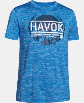 Boys' UA Combine® Havoc T-Shirt  1 Color $14.99