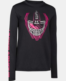 Boys' UA Power In Pink® Fight Helmet T-Shirt  1 Color $17.99