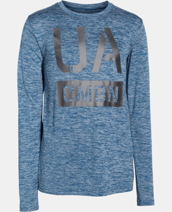 Boys' UA Combine® Long Sleeve T-Shirt LIMITED TIME: FREE U.S. SHIPPING 1 Color $17.99 to $22.99