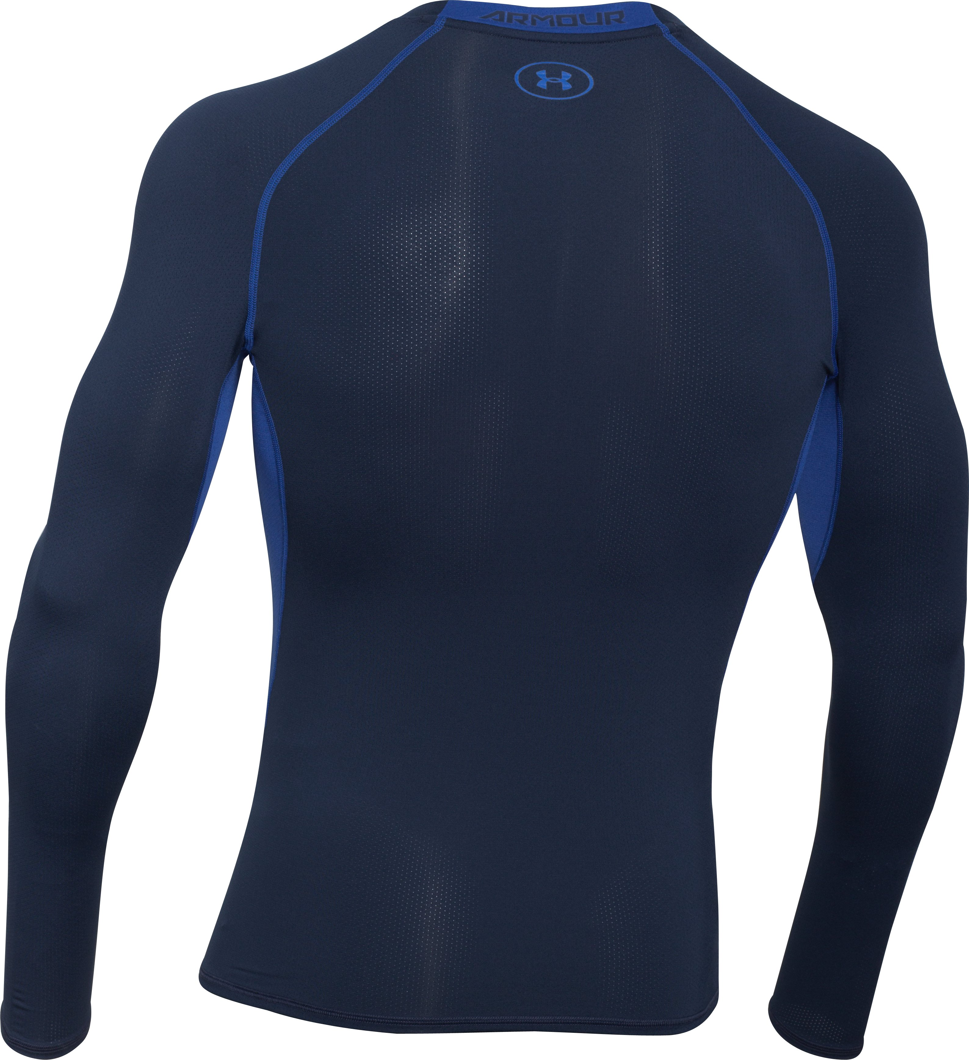 Men's UA HeatGear® Armour Exo Long Sleeve Compression Shirt, Academy, undefined