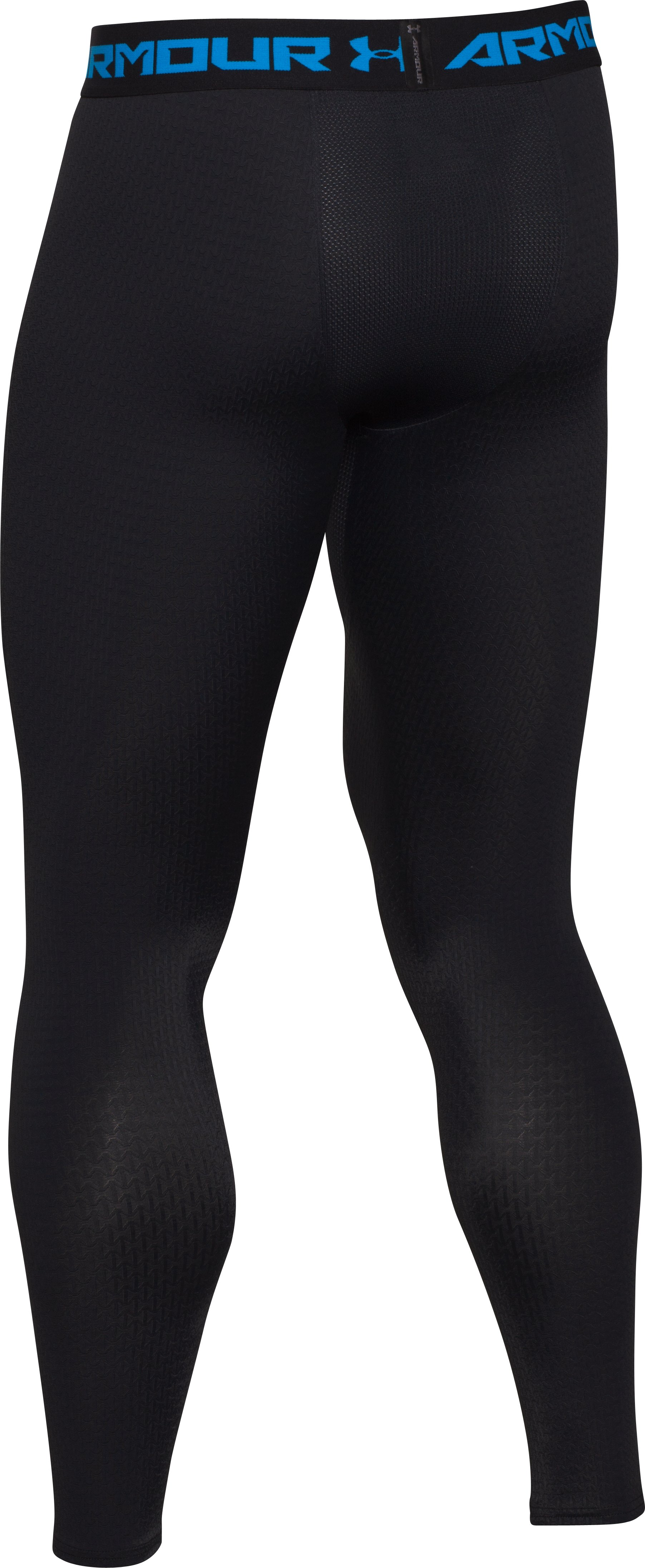 Men's UA ClutchFit™ Compression Leggings, Black , undefined