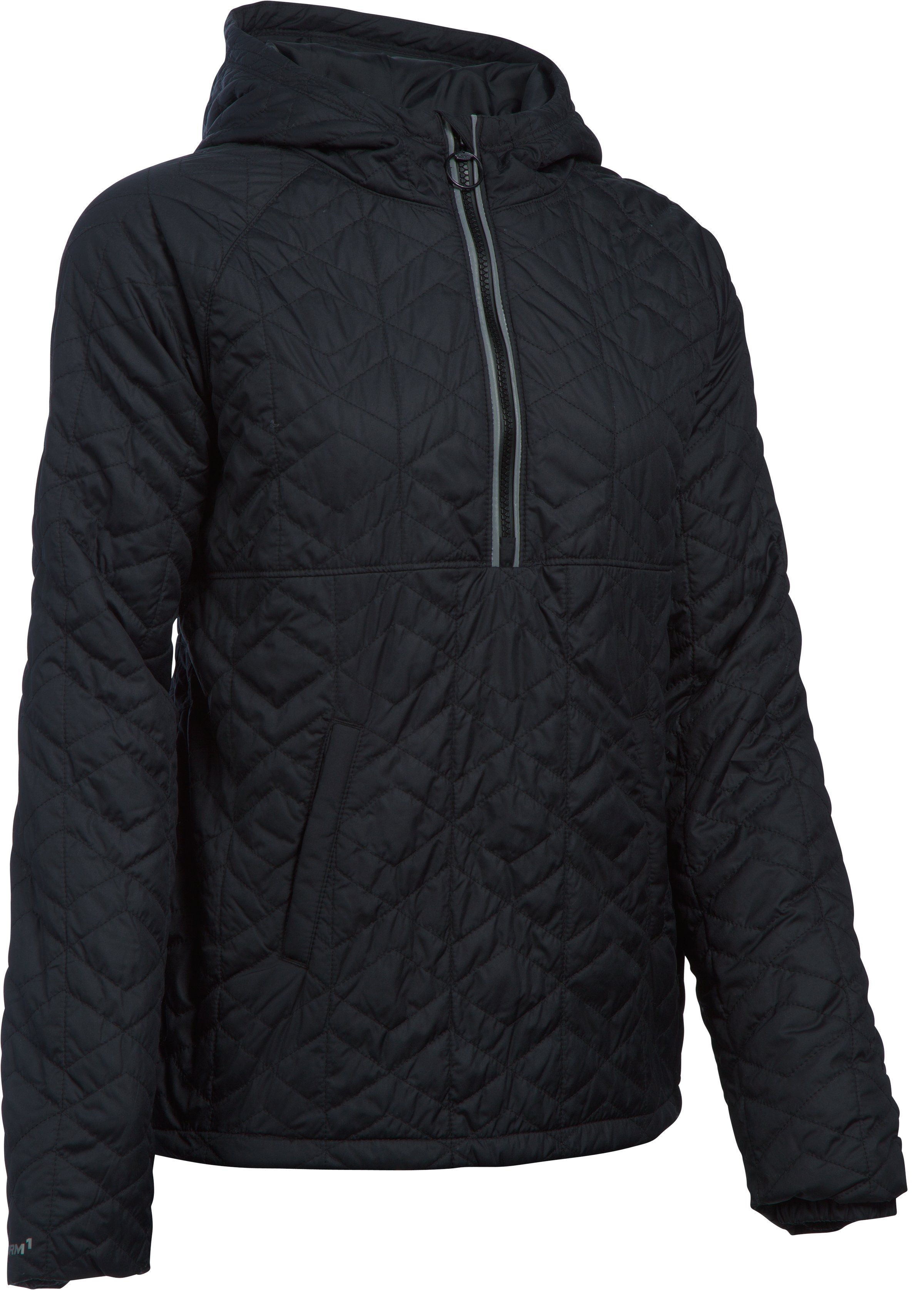 Women's UA Cozy Popover Jacket, Black