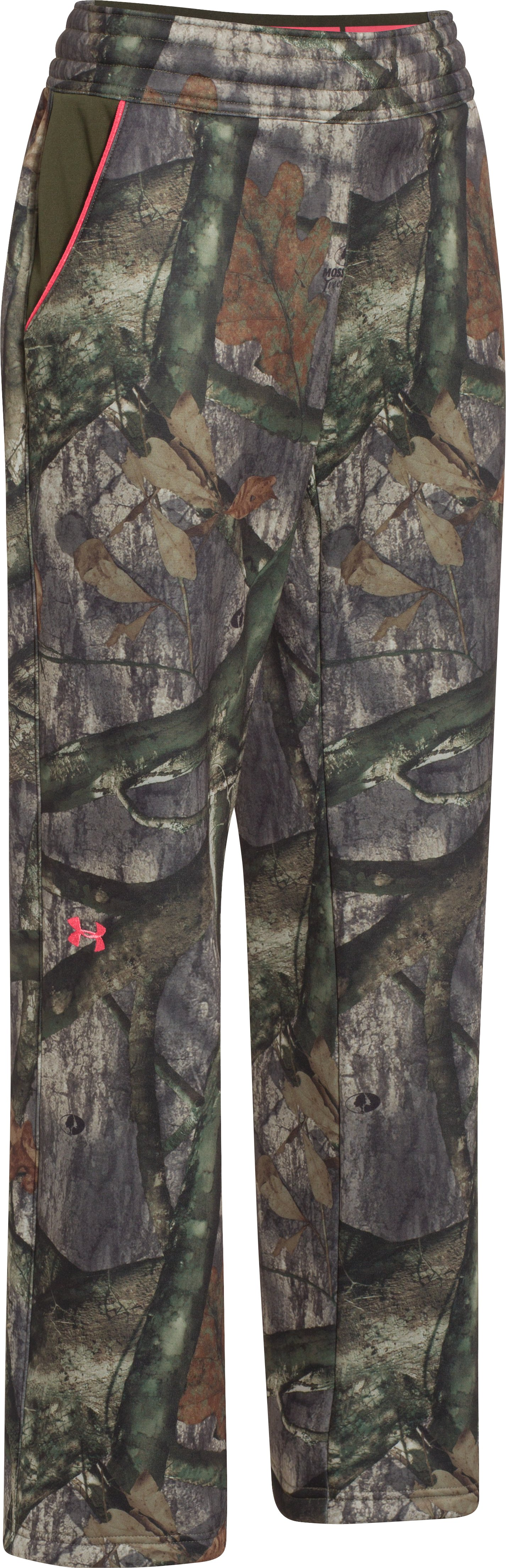 Women's UA Camo Armour® Fleece Pant, Mossy Oak Treestand