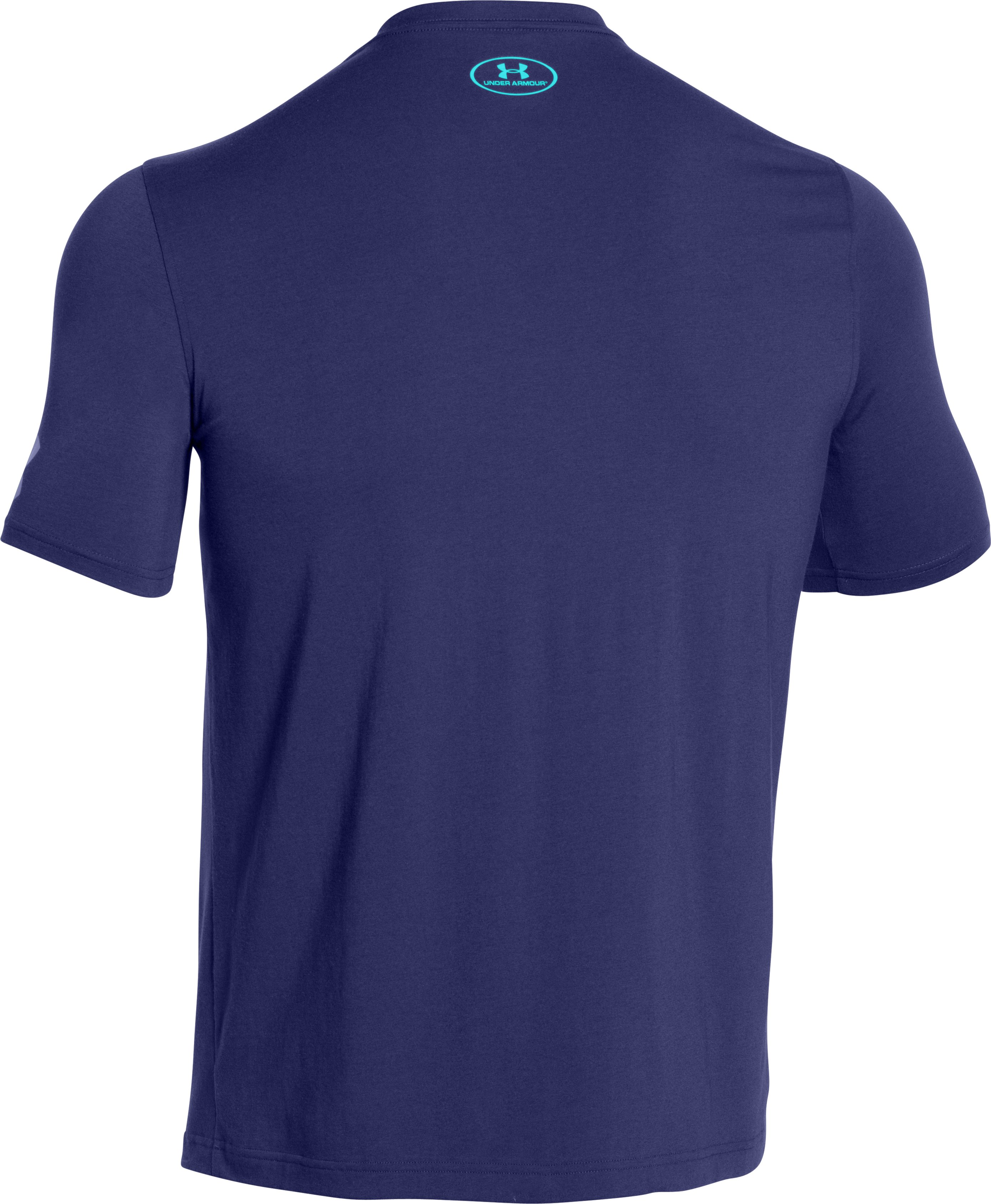Men's UA SC30 Logo T-Shirt, EUROPA PURPLE
