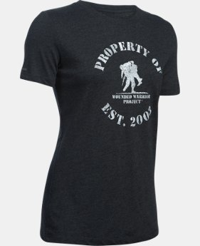 Women's UA WWP Property Of Short Sleeve LIMITED TIME: FREE SHIPPING 2 Colors $29.99