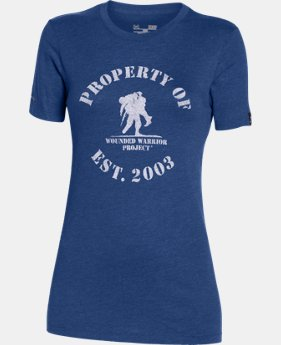 Women's UA WWP Property Of Short Sleeve  1 Color $17.99