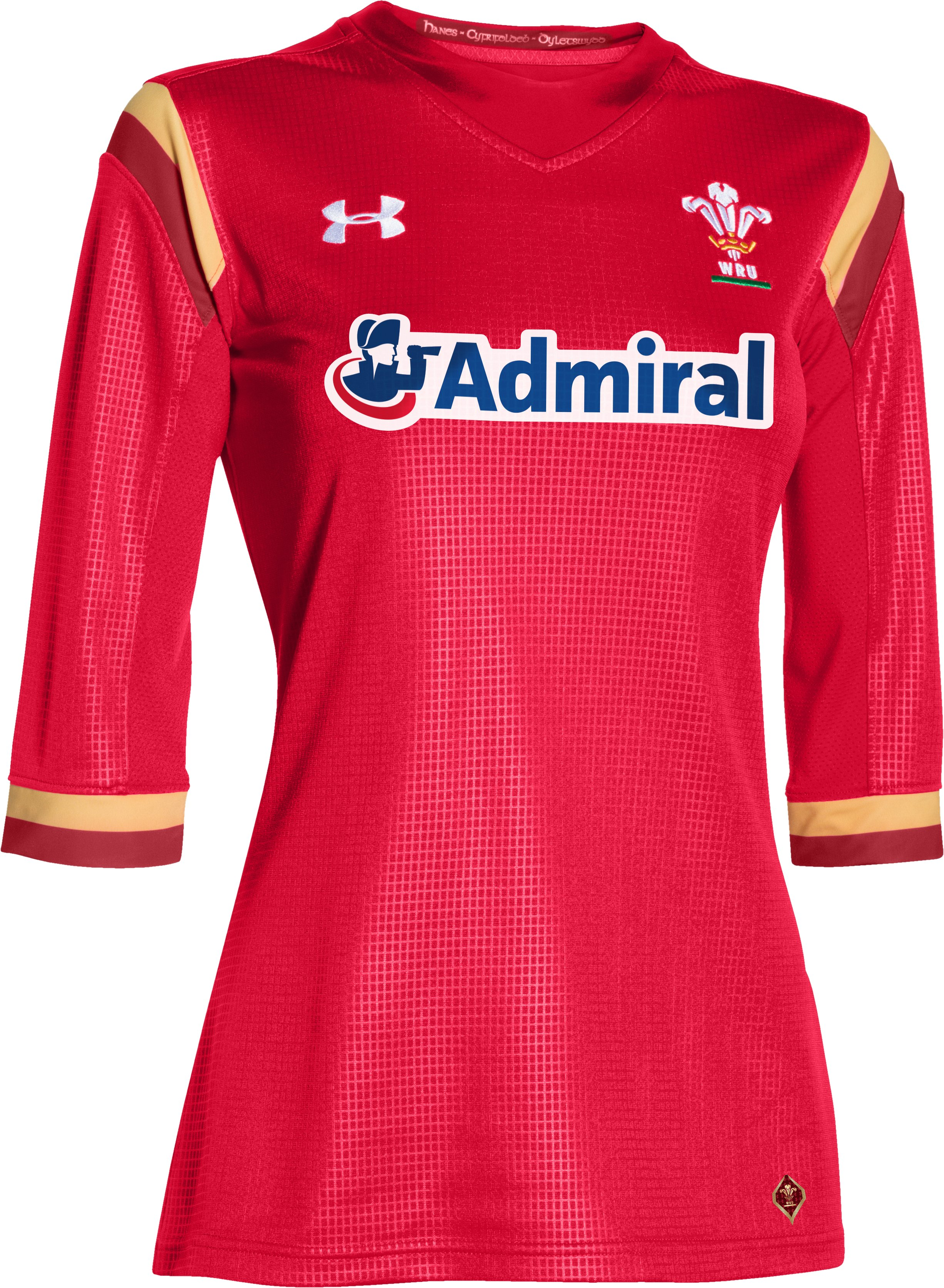 Women's WRU 15/16 Supporters Replica Jersey, Red,