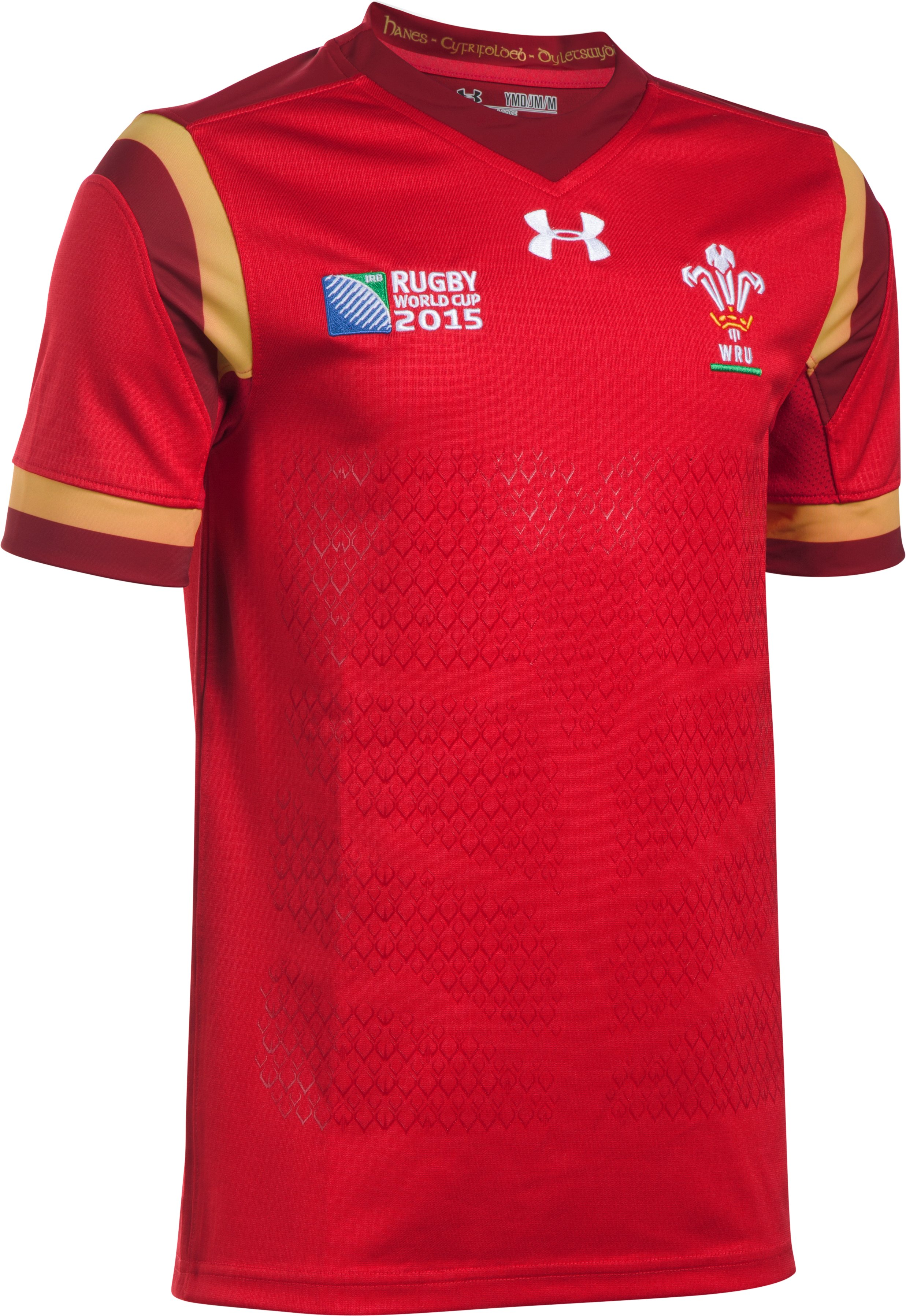 Boys' WRU Supporters 15/16 Jersey, Red