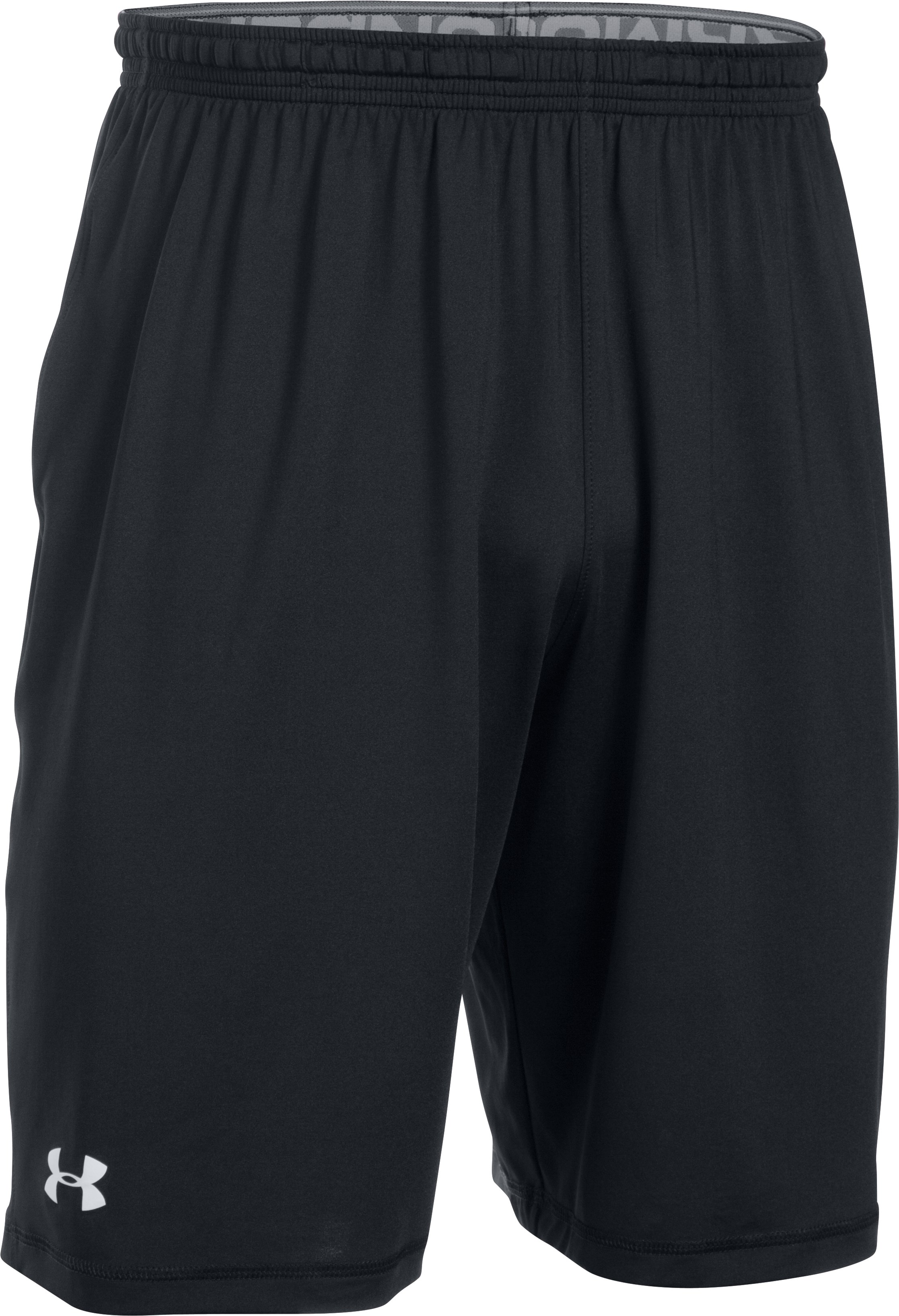 Men's UA Raid Team Shorts, Black , undefined