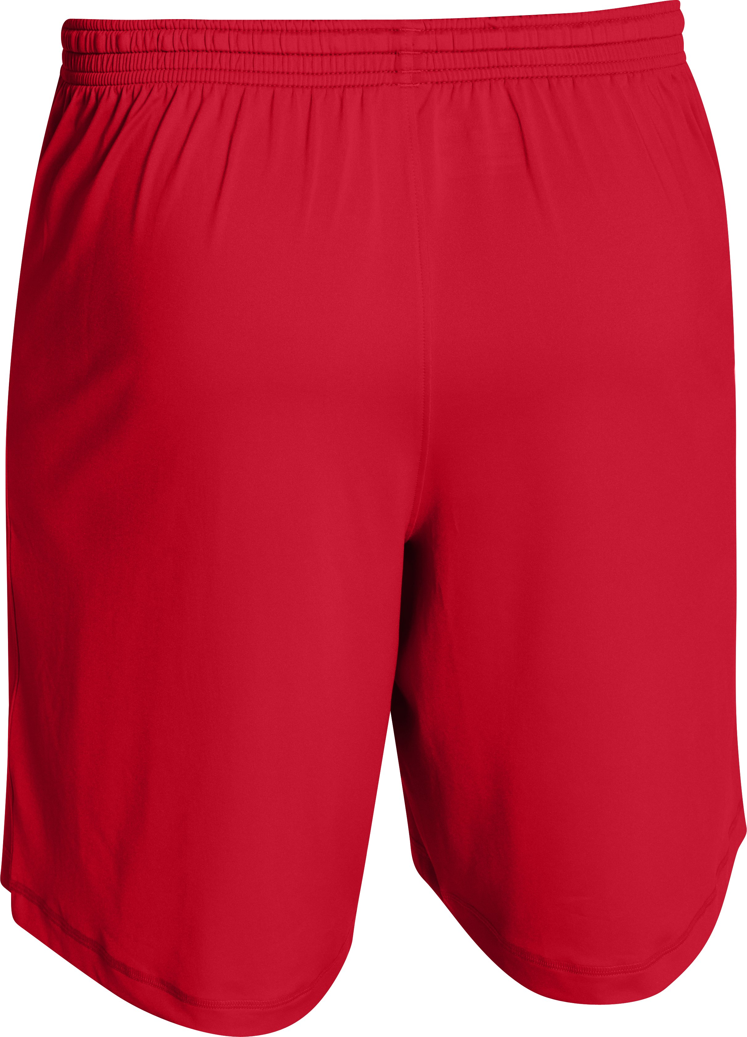 Men's UA Raid Team Shorts, Red,