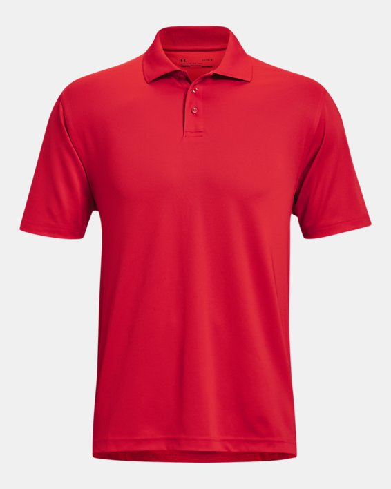 Men's UA Performance Corp Polo, Red, pdpMainDesktop image number 8