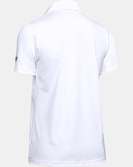 Women's UA Performance Polo, White, pdpMainDesktop image number 9