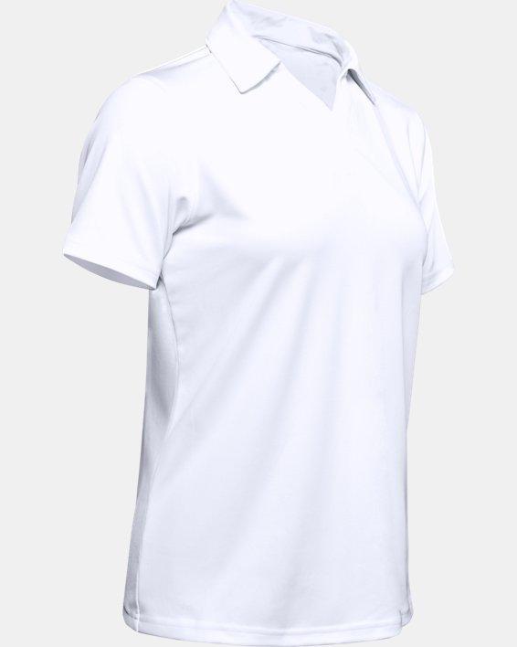 Women's UA Performance Polo, White, pdpMainDesktop image number 8