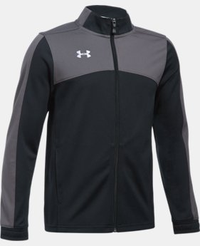 New Arrival  Boys' UA Futbolista Soccer Track Jacket LIMITED TIME: FREE SHIPPING 2 Colors $64.99