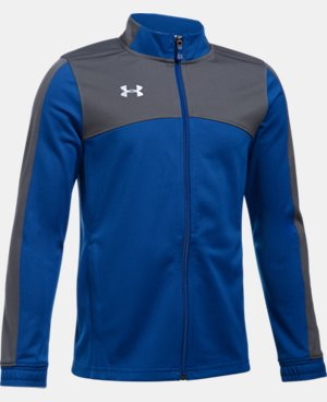 New Arrival  Boys' UA Futbolista Soccer Track Jacket LIMITED TIME: FREE SHIPPING 1 Color $64.99